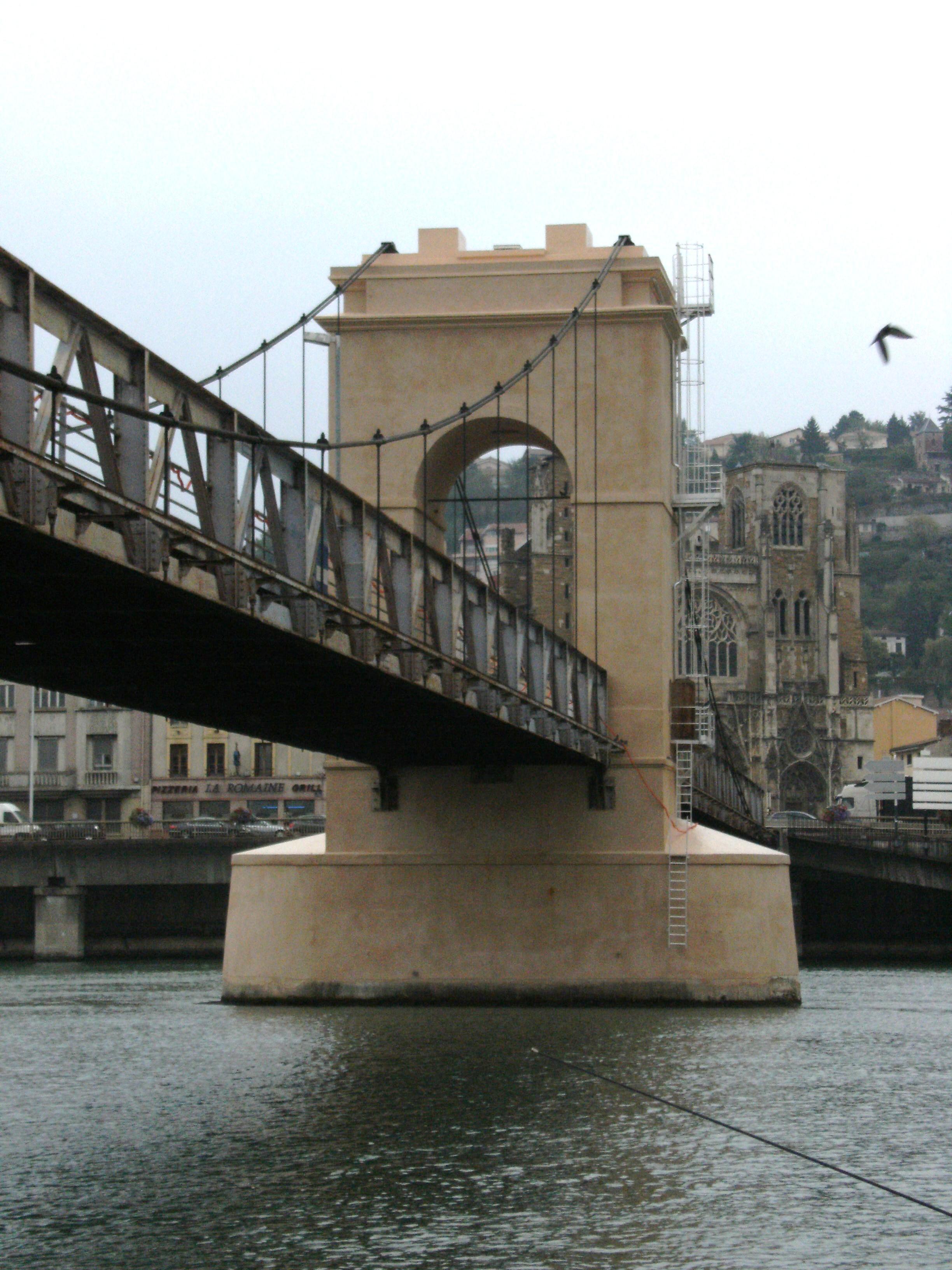 Le pont de pile apres